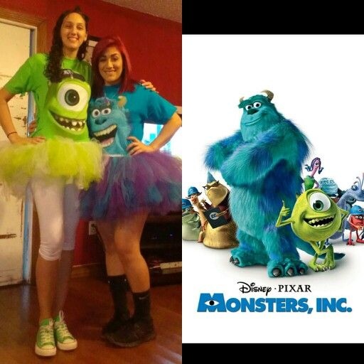 monsters inc bff costumes matching - Matching Girl Halloween Costume Ideas