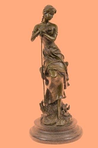 f00b6dd0d7e Handmade...European Bronze Sculpture Dreaming By Auguste Moreau Art ...