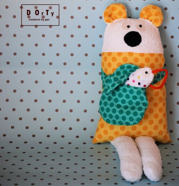 Cute fabric toy by DOrTy