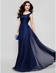 TS+Couture®++/+Formal+Evening+/+Holiday+Dress+-+Dark+Navy+Pl...+–+USD+$+149.99