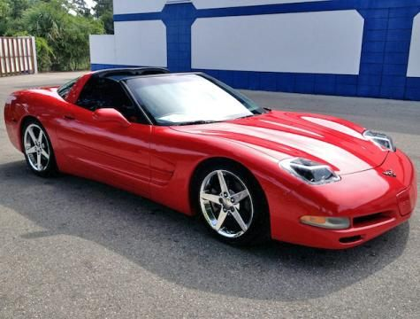 2002 Chevrolet Corvette C5 Convertible sports coupe for under $16000 dollars in Florida