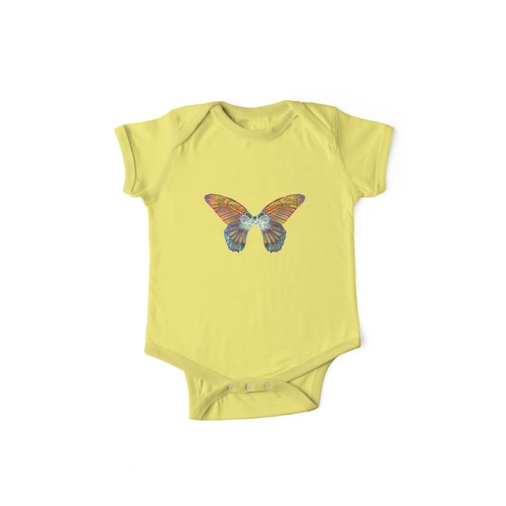 Baby Onesie - Butterfly #babyfashion #babyclothes #kidsfashion #kidsapparel #butterfly