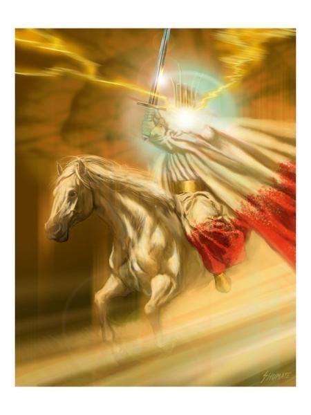 REV19 The Rider on the White Horse http://www.biblegateway.com/passage/?search=Revelation%2019&version=NLT