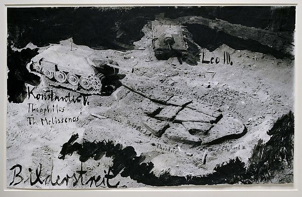 Anselm Kiefer (German, 1945). Iconoclastic Controversy, 1980. The Metropolitan Museum of Art, New York. Purchase, Lila Acheson Wallace Gift, 1995 (1995.14.29). #MetonPaper100