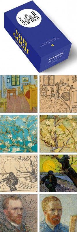 BIS245 - Memory game - Van Gogh | Memory Games | kaartfanaat