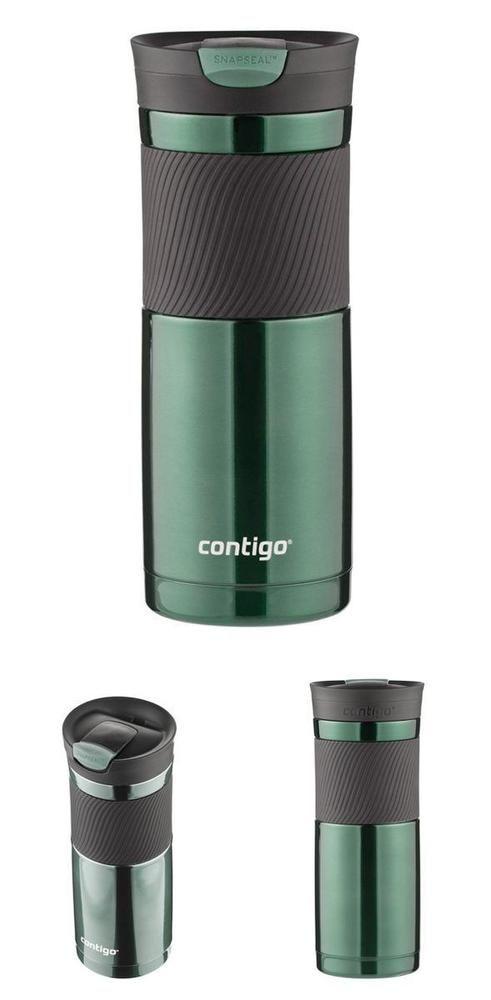 20-ounce Cup Stainless Steel Travel Mug Vacuum Insulated Coffee Mug Snapseal Lid #Contigo