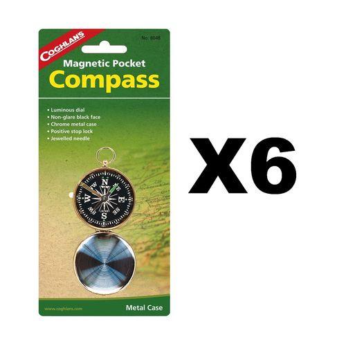 Coghlan's Pocket Compass (6 Pack)