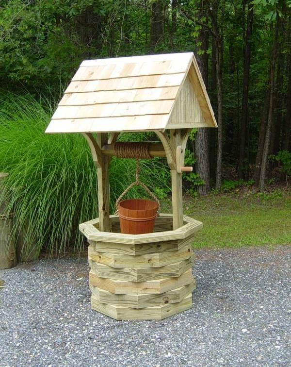 how to build a wishing well instructions