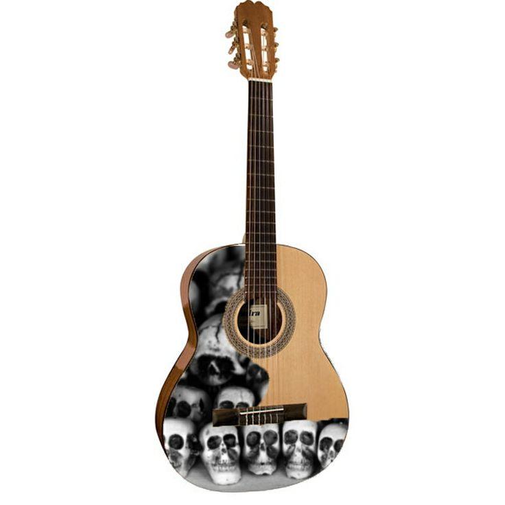 Guitar precut stickers Admira Alba Pegatinas de vinilo para Admira Alba Custom guitars & guitar stickers www.for-guitar.com