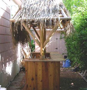 how to build your own bali hut