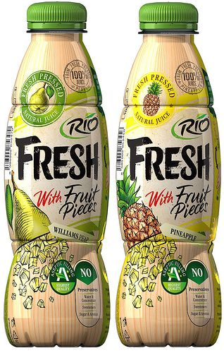 Rio Fresh with Fruit Pieces