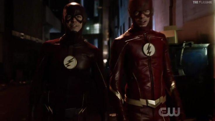 The Flash & Future Flash Team up - The Flash 3x19 Future ...