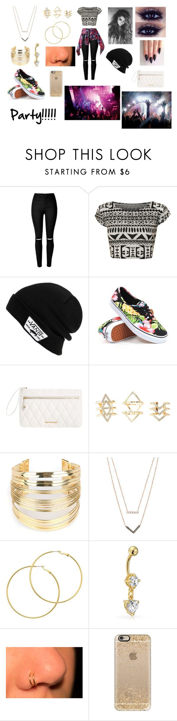 """""""High School Party!!! #1"""" by allisenthornal ❤ liked on Polyvore featuring moda, WearAll, Vans, Vera Bradley, Pacha, Charlotte Russe, WithChic, Michael Kors, Melissa Odabash e Bling Jewelry"""