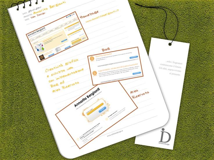 Sito professionale Annarita Bergianti    Online: http://www.annaritabergianti.it/