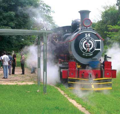 Ferrocarril del Paraguay Fuente: lugaresdeamerica.com
