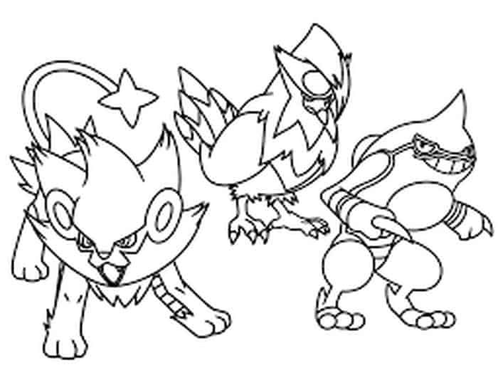 Pikachu Coloring Pages Printable With Images Pokemon Coloring
