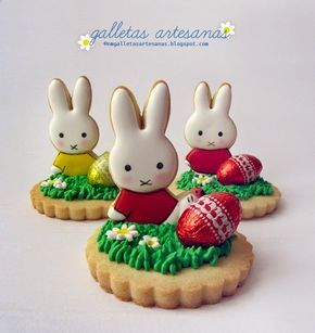 N.M. Galletas Artesanas: Miffy y el huevo de Pascua