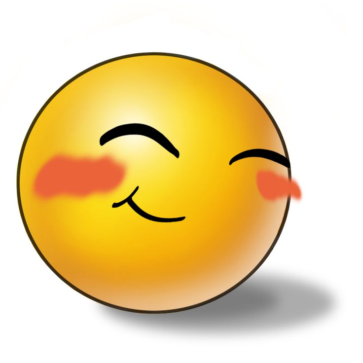 blush, Emoji, reaction, smile, Emoticon, shy icon