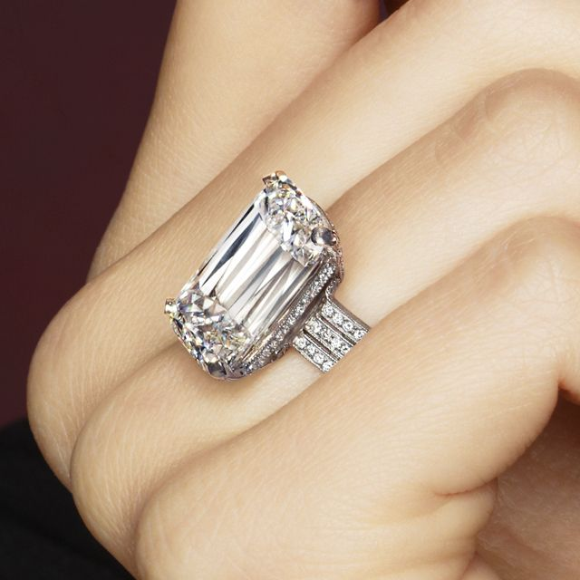 ASHOKA® Diamond Three Row Trellis Ring by William Goldberg