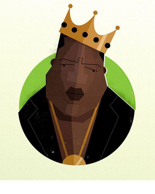 rapper Notorious Big