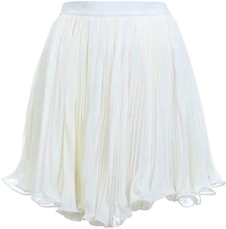 #missselfridge.com        #Skirt                    #Cream #Plisse #Mini #Skirt #View #Going #Miss #Selfridge                     Cream Plisse Mini Skirt - View All - Going Out - Miss Selfridge                                         http://www.seapai.com/product.aspx?PID=1063074