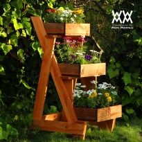 Three Tier Planter Woodworking For Mere Mortals Cascading 400 x 300