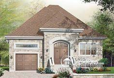 Plan de maison no. W3449 de dessinsdrummond.com
