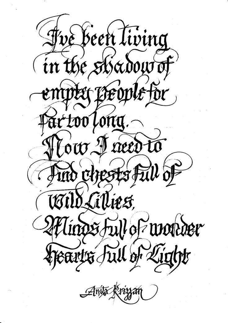 Latin calligraphy aaa pinterest for Latin tattoo fonts