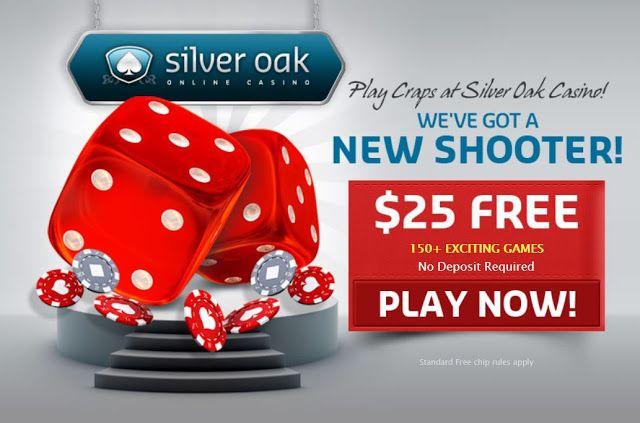 25 No Deposit Bonus For Craps Silver Oak Casino With Images