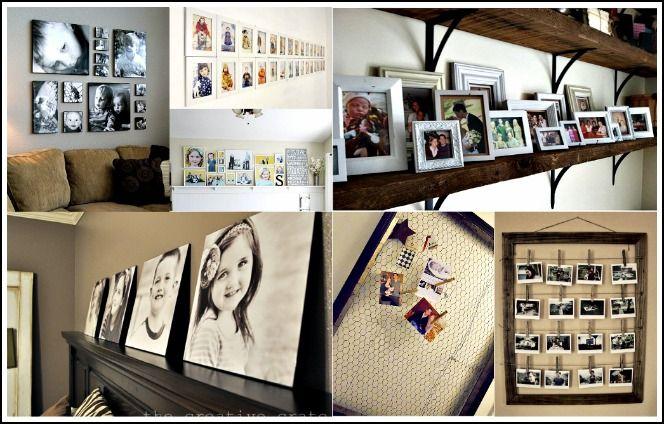 photo storage ideas and display ideas