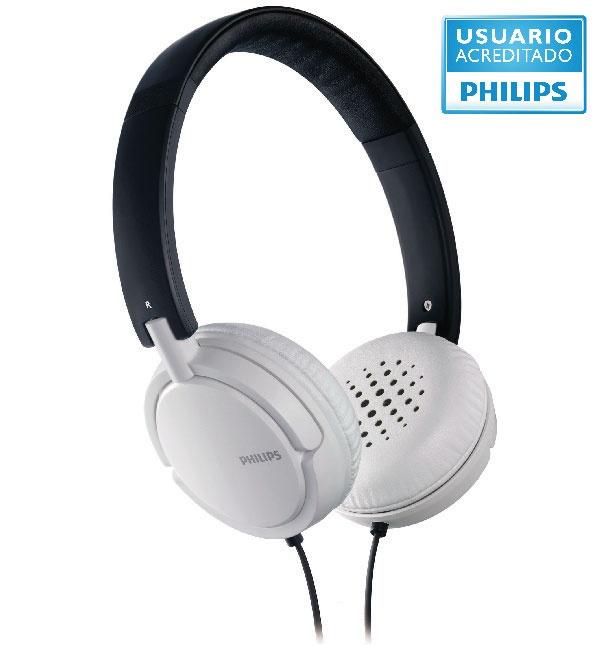 Shl 5003  Estos auriculares están diseñados para que disfrutes de la música vayas donde vayas. Las suaves almohadillas te permiten escuchar tus canciones preferidas por más tiempo y el excelente sonido te ofrece una experiencia espectacular. No vas a sentir que los tenés puestos. • Auriculares en espiral que se ajustan cómodamente al contorno de tu cabeza.  http://articulo.mercadolibre.com.ar/MLA-424152949-auricular-philips-con-banda-de-sujecion-shl-5003-_JM