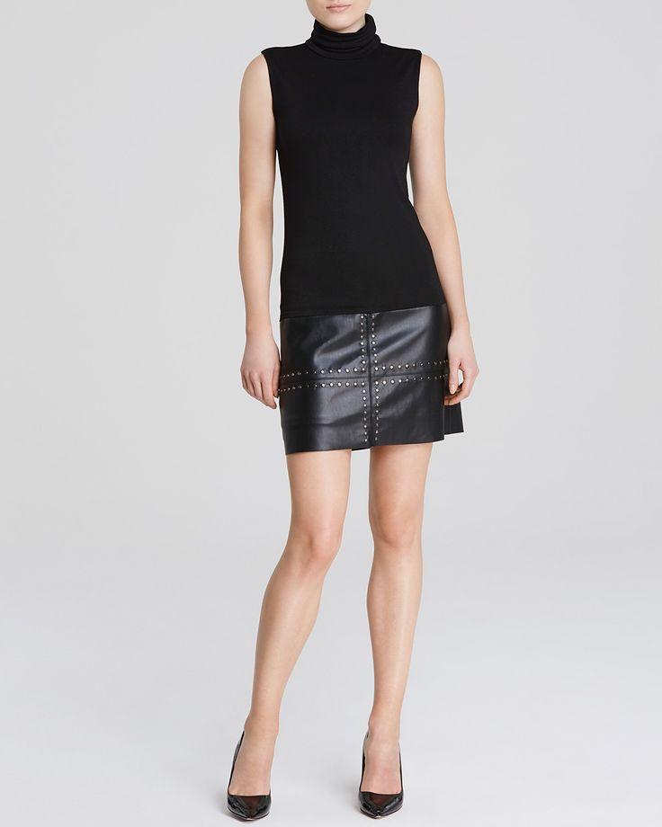 Bailey 44 Dress - Dunaway Sleeveless Turtleneck Lorax | Bloomingdale's