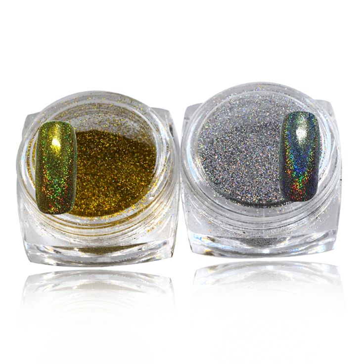 1g Colorful Nail Holographic Dust Shinny Mermaid Trend Laser Glitter Powder Pigment Glitter For Nail Art M09/10
