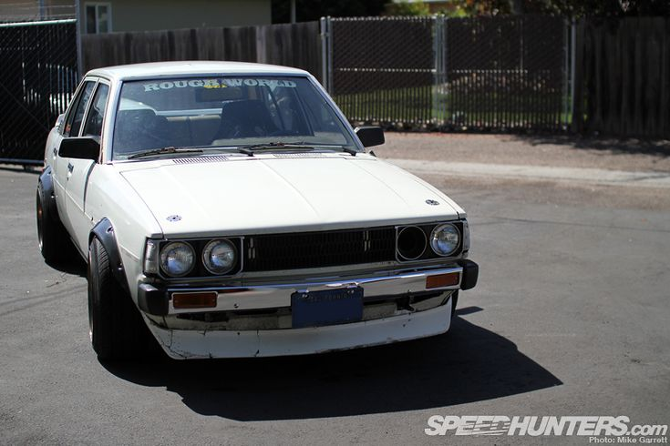 There's Todd's F20C-swapped Corolla