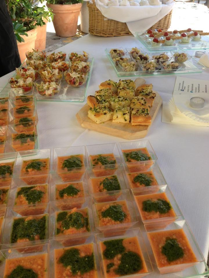 Lo sfizioso aperitivo-pranzo a @SpiritoDivinoPG #InMontefalco foto di @Valeria Saracco