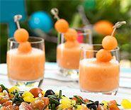 Melonensuppe