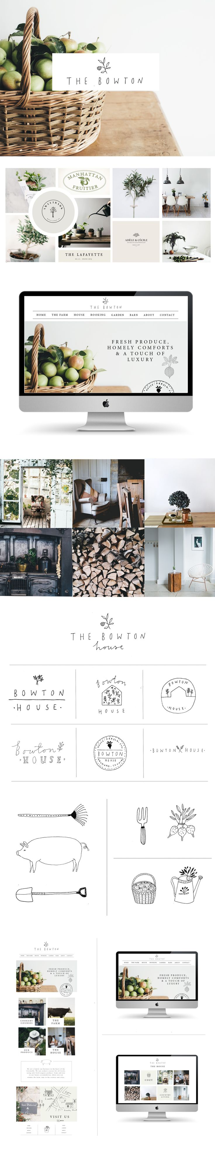 Website and branding by Ryn Frank www.rynfrankdesign.co.uk Love it and its a simple yet modern website.