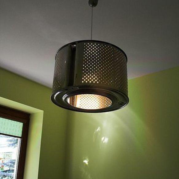 Washing Machine Drum Light (bengkel.kaodim.com) - Upcycled Lighting That Adds Charm & Character