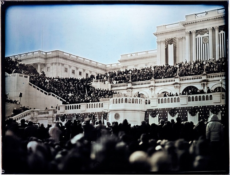 Obama Inauguration, by Jerry Spagnoli