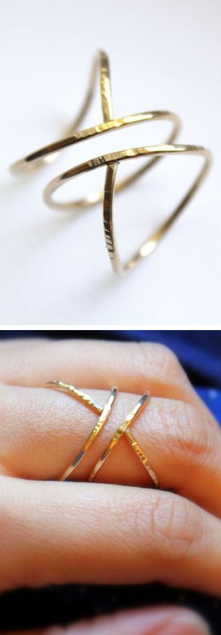 Hammered Siren Ring <3