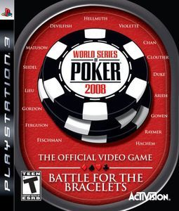 World Series of Poker 2008 - PS3 Game