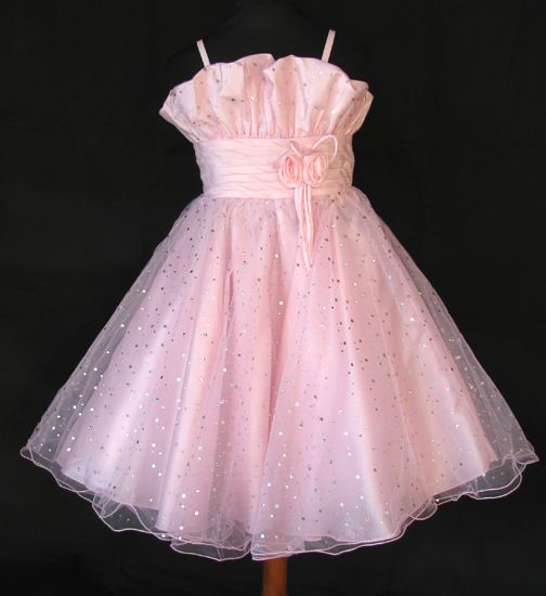 """Φορέματα για Παρανυφάκια - Επίσημα Φορέματα για Κορίτσια :: Μοναδικό Παιδικό Φόρεμα σε ΡΟΖ για βάφτιση, Παρανυφάκι, Πάρτι """"Dolly-Ann"""" - http://www.memoirs.gr/"""