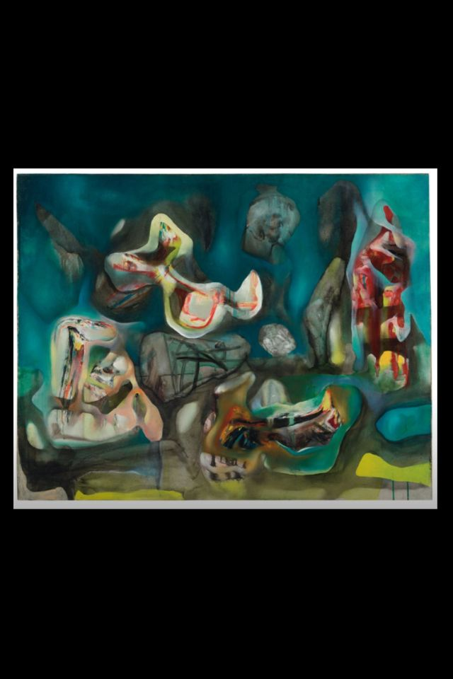 Roberto Matta -Morphologie psychologique 1938 - Oil on canvas - 73 x 91,2 cm