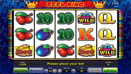 Live like a King when you spin the reels of Novomatic's #ReelKingonlineslot.