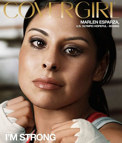 Olympic Boxer & Face of CoverGirl: Marlen Esparza Inspires http://www.mamiverse.com/marlen-esparza-boxer-covergirl-18502/  #mamiverse #covergirl #latinas