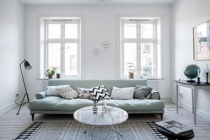 Apartamento nórdico con una genial cocina de diseño 9