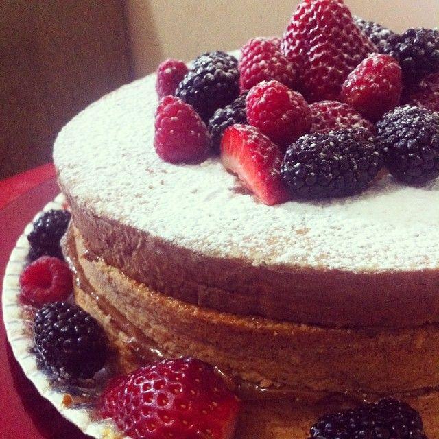 Bem Casado com frutas vermelhas Cho•Co Gourmand