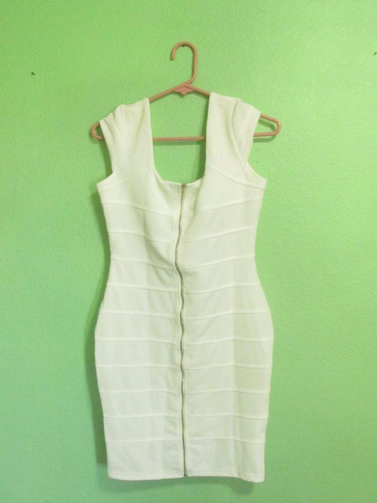 Beautiful White Dress #MUSOL #Casual