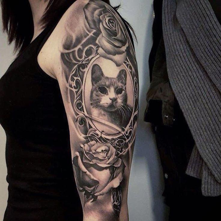 B&G tats by Jp Wikman:Best_tattoos Cat tattoo