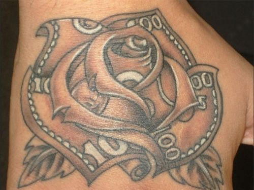 Gorgeous money rose tattoo cost tattoo prices money for Bloody ink tattoo price